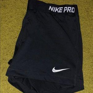 Black Nike Pro Spandex
